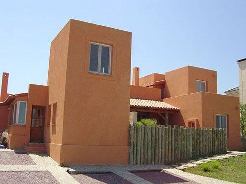 Revestimiento exterior fachada rustica casa web - Pintura para fachadas de casas ...