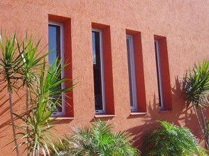 revestimiento exterior texturado
