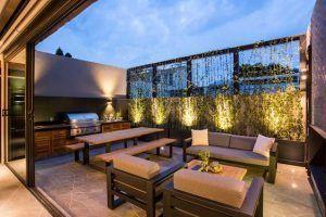 terrazas modernas con churrasquera
