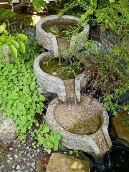 Decoracion de jardines adornos casa web for Peces para fuente exterior