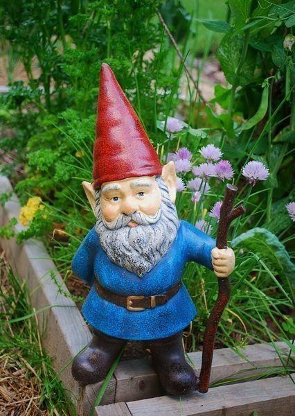 duende para jardin - decoracion