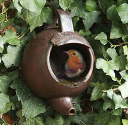 Nido para pajaros Adornos de exterior para jardin -