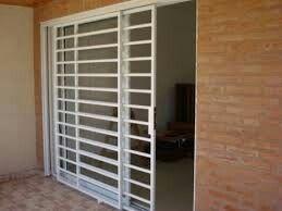 Puerta Ventana De Alumino Con Reja Corrediza Casa Web