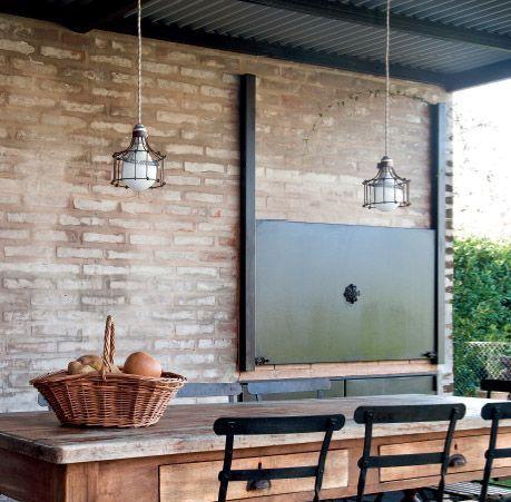 Dise os de parrillas modernas para quinchos casa web for Como hacer herrajes rusticos