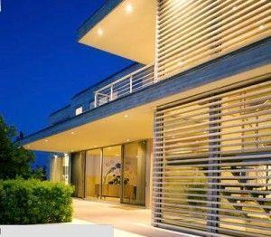 ventanales con rejas modernas