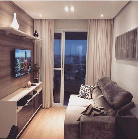 sala de estar muy pequeña