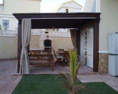 Galerias para casas modernas casa web - Cortinas de casa ...