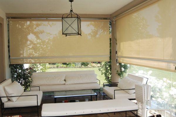 cortinas roller para galerias