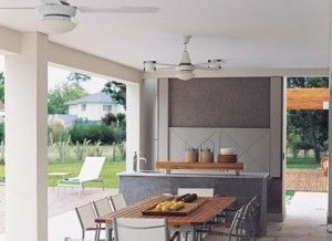 Galerias de casas Modernas con asador