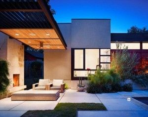 Churrasquera en la galeria casa web for Parrillas para casas modernas