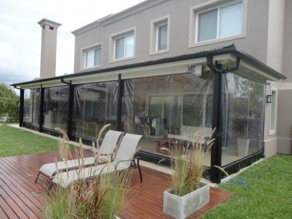Galerias De Casas Cerradas Con Lona Transparente Casa Web