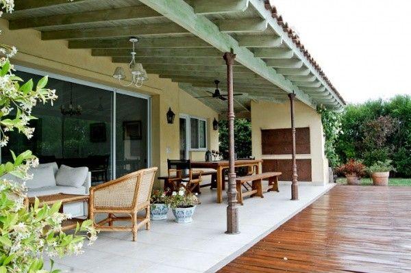 galerias de casas de campo con parrilla columna ca o ForParrilla Casa De Campo