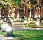 decoracion exterior con luces led