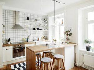 cocina muebles de estilo nordico modernos