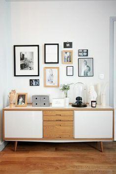 comoda apra dormitorio - muebles de estilo nordico modernos