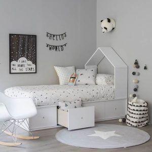 dormitorio infantil muebles de estilo nordico modernos