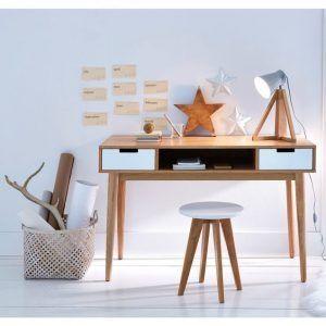 escritorio silla y banco muebles de estilo nordico modernos
