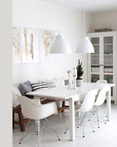 lamparas comerdor muebles de estilo nordico modernos