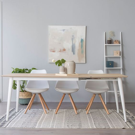 Decoracion muebles modernos estilo nordico casa web - Decoracion mesa comedor ...