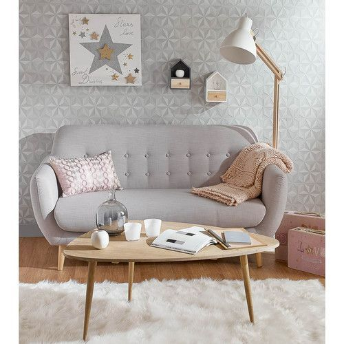 mesa de cafe apra sala de estar - muebles de estilo nordico modernos