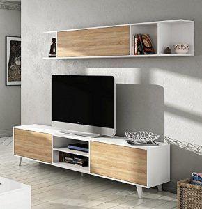 mueble para tv en sala de estar muebles de estilo nordico modernos