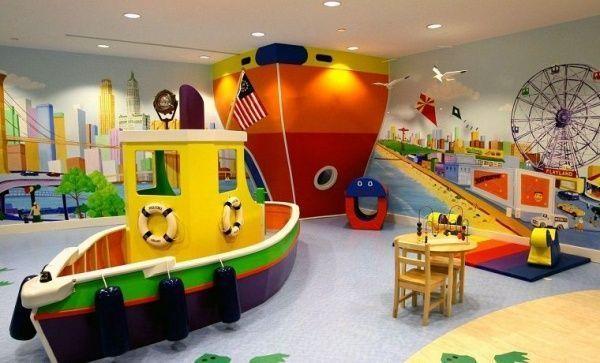 cuarto de juego maritimo para chicos