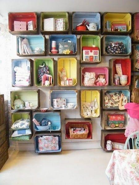 organizar juguetes reciclando cajones - playroom