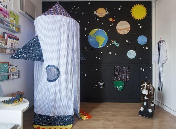 sala de juegos espacial para niños