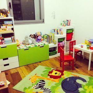 sala de juegos pequeña