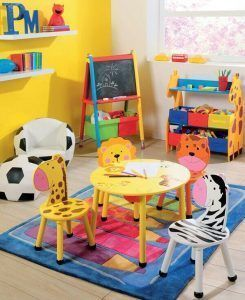 sillas de animalitos para play room