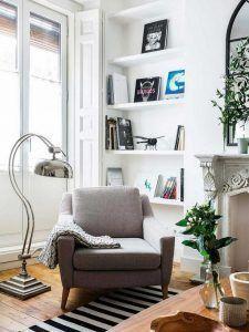 Rincon de lectura para adulto moderno y elegante decoracion
