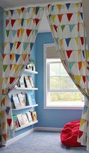Rincon de lectura para niños decoracion