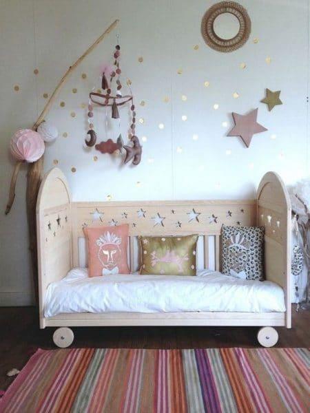 cama infantil estilo montesori