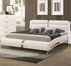 cama matrimonial moderna futurista