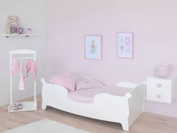 cama montesori gondola bimba