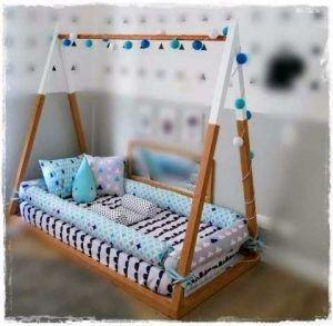 cama montesori para bebes