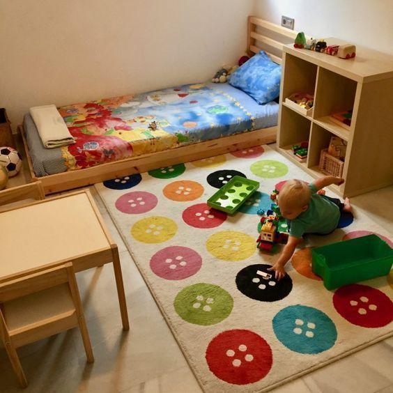 cama montesori para bebes ikea