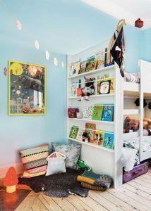 rincon de lectura infantil decoracion ideas