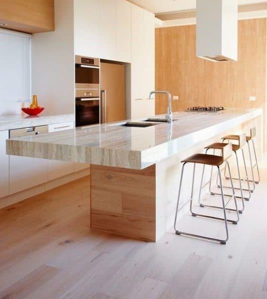 Mesada para cocina con Marmol Travertino e1536073792555 - Casa Web