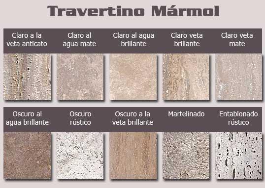 Marmol travertino para pisos y revestimientos caracteristicas y tipos casa web - Colores de marmol ...