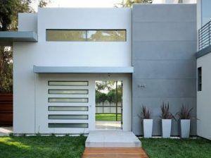 fachadas casas pequeñas minimalista moderna de dos planta e1535982100180