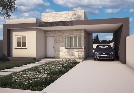 Fachadas de casas peque as casa web for Casas estilo minimalista de dos plantas