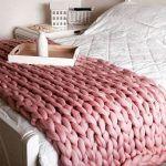 Mantas de Tejidos gigantes para cama o sillon