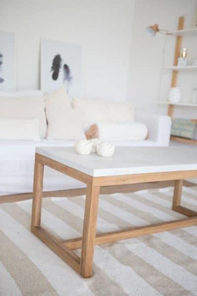 mesa ratona madera minimalista