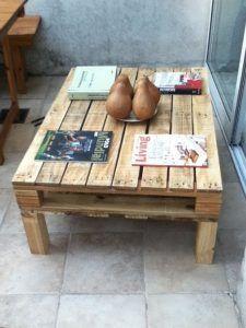 mesa ratona madera reciclada pallet