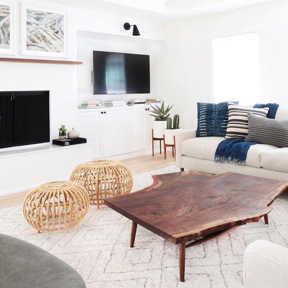mesa ratona madera rustica