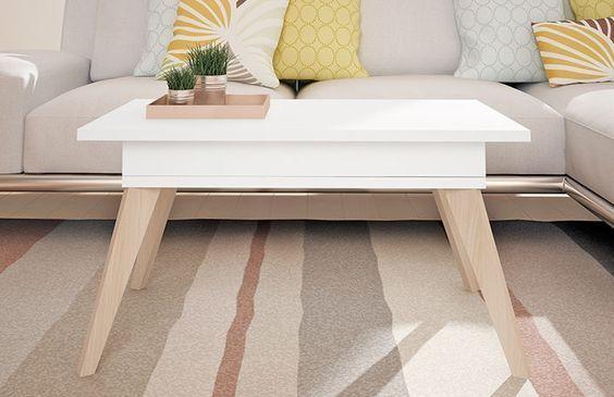 mesa ratona moderna escandinava