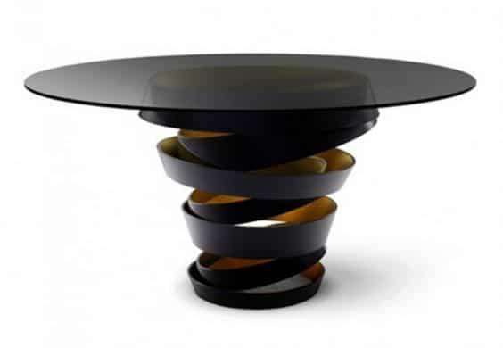 mesa ratona redonda de diseño
