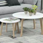 mesa ratona redonda doble