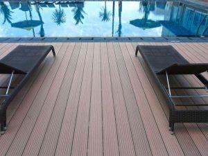 Deck WPC pisos ecologicos para exterior con materiales reciclados